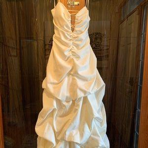 Wedding dress or prom dress